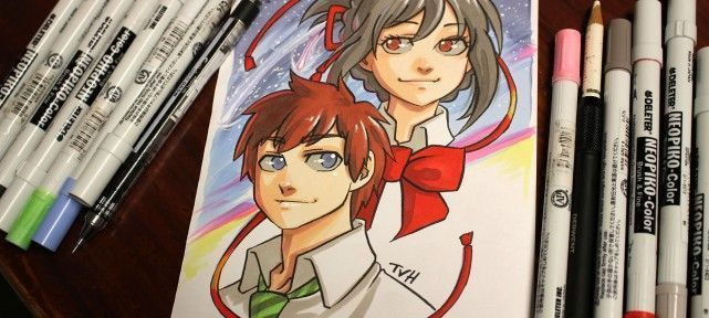 Dessiner Your Name au Neopiko-Color