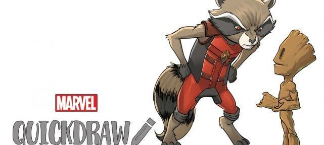 dessiner-comics-marvel-rocket-et-baby-groot-gardiens-galaxie