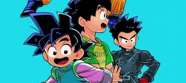 Dragon Ball - Dessin Son Goten par bitz_rainbow