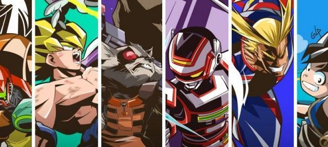 Glauco Silva Artworks : Dragon Ball Z, My Hero Academia, Les Gardiens De La Galaxie !