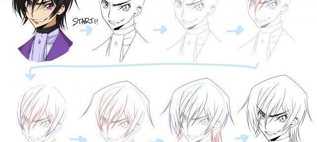 Gut gemocht Leçons pour apprendre à dessiner Manga IM74