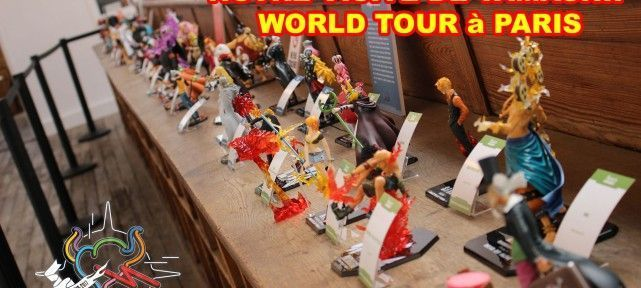 Notre visite de TAMASHII NATIONS 10th WORLD TOUR - Paris