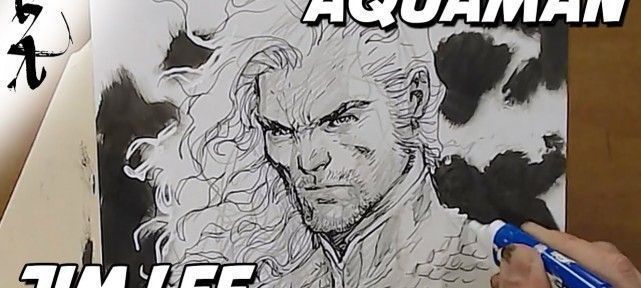Dessiner Les Comics : Jim Lee dessine Aquaman