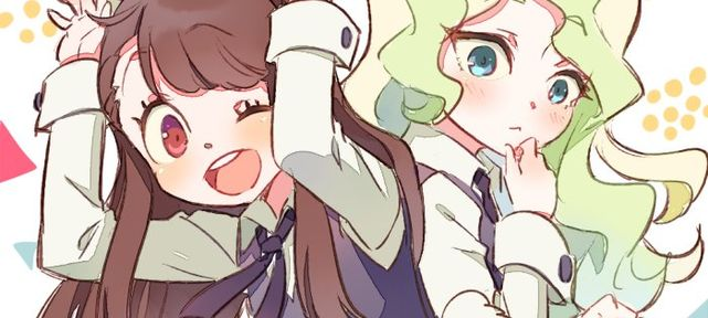 Little Witch Academia : Les dessins aquarelles de Conago
