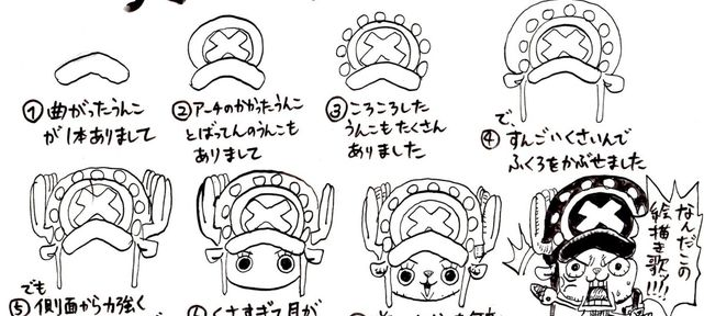 one-piece-apprendre-dessiner-tony-tony-chopper-nyaponi