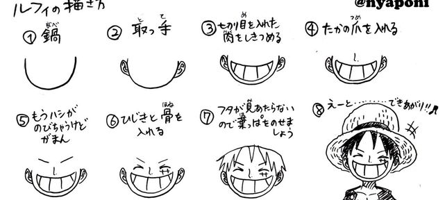 dessin manga tuto