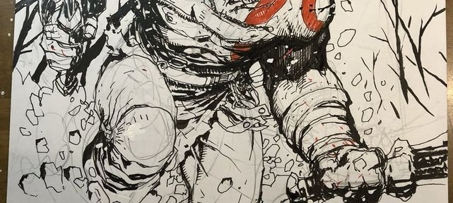 Jim Lee dessine Skeletor et Kratos de God of War