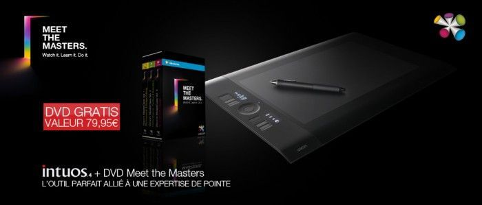 Wacom: pack Intuos4 + DVD Meet the Masters