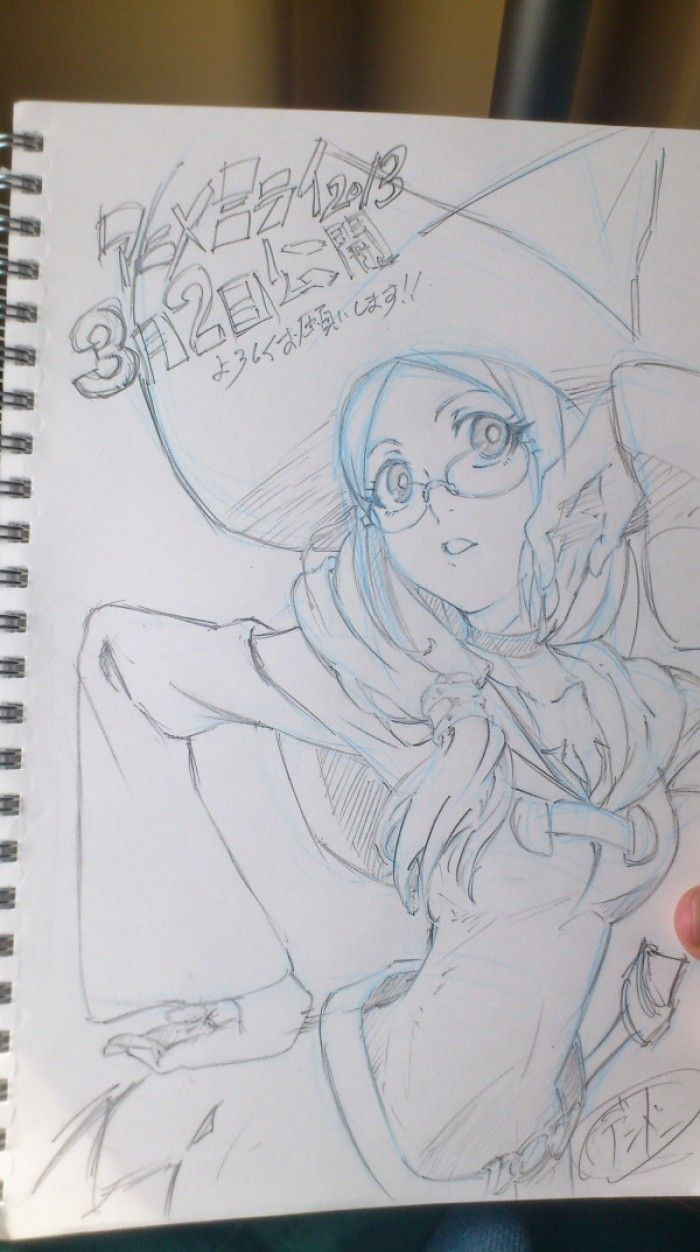 Fanarts Little Witch Academia