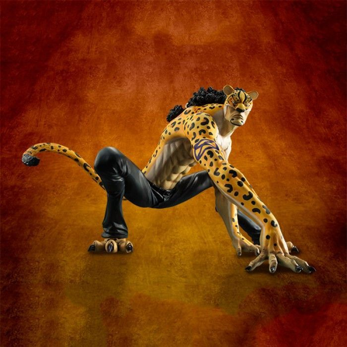 Excellent Model Portrait Of Pirates One Piece MAS Rob Lucci Version Panther (Kamiebushin)