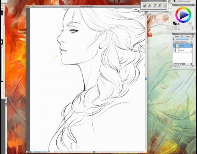 Apprendre a dessiner elsa - Comment dessiner elsa ...