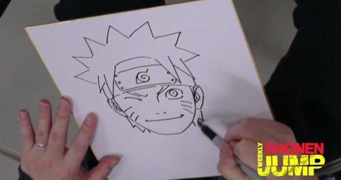 Masashi kishimoto dessine naruto - Comment dessiner un ninja ...