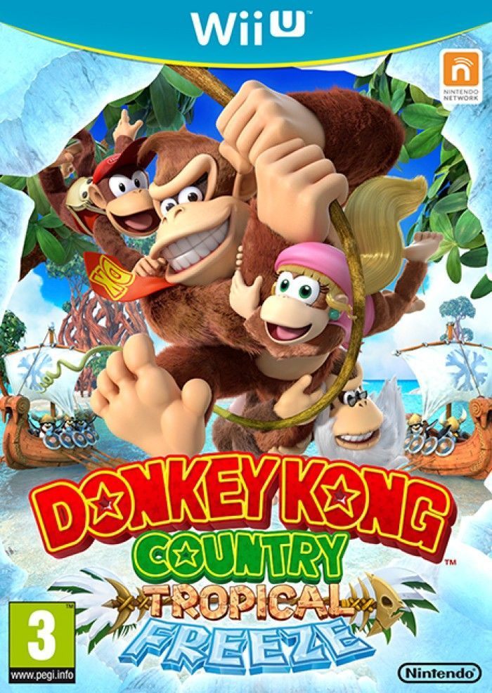 DONKEY KONG COUNTRY: TROPICAL FREEZE SUR Wii U