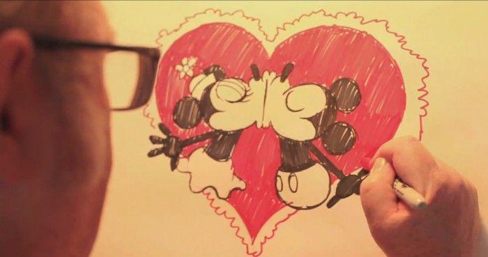 Dessiner mickey et minnie avec eric goldberg - Apprendre a dessiner mickey ...
