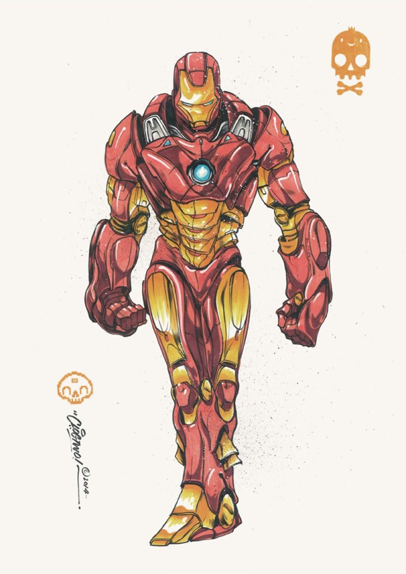Iron Man En Armure De Samourai