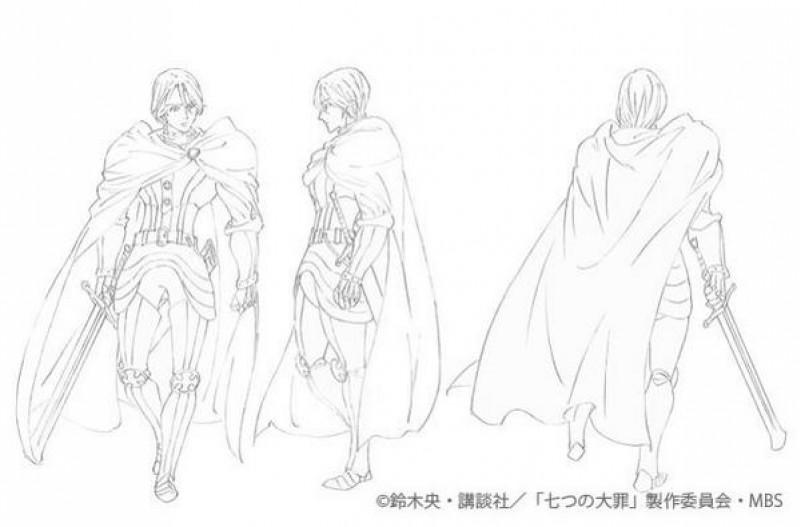 Seven Deadly Sins Nanatsu No Taizai Chara Design Des