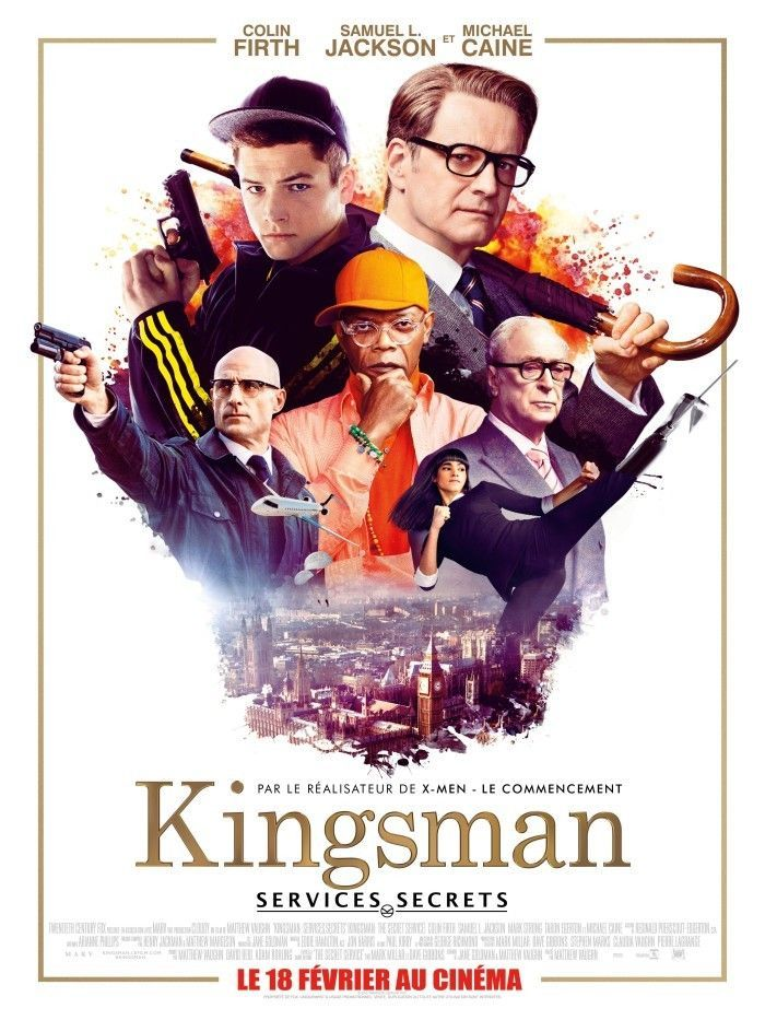 Critique de Kingsman Services Secrets: le plus explosif des films d'espionnages!