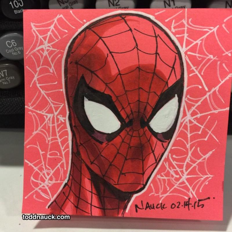 Comment dessiner spider man avec un simple post it - Dessiner spiderman ...