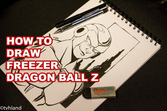 Comment dessiner Freezer de Dragon Ball Z?