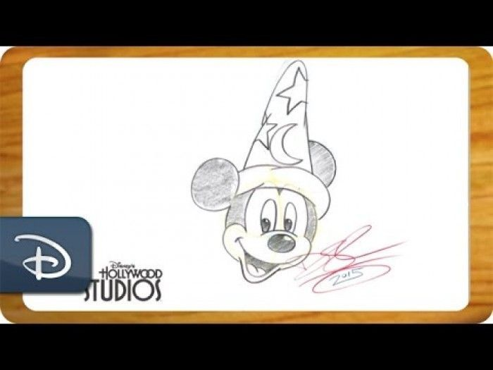 Comment Dessiner L Apprenti Sorcier Mickey De Fantasia