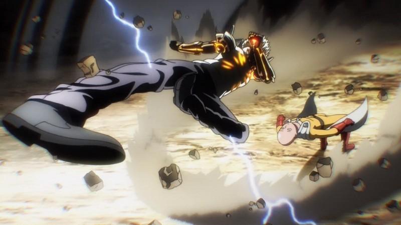 One Punch Man Saitama Vs Genos - Video Episode 5 One Punch Man : Combat badass Saitama VS Genos