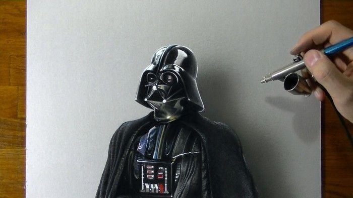 Star wars dessiner dark vador - Dessin dark vador ...
