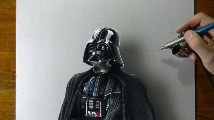 Tvhland Star Wars Dessiner Dark Vador