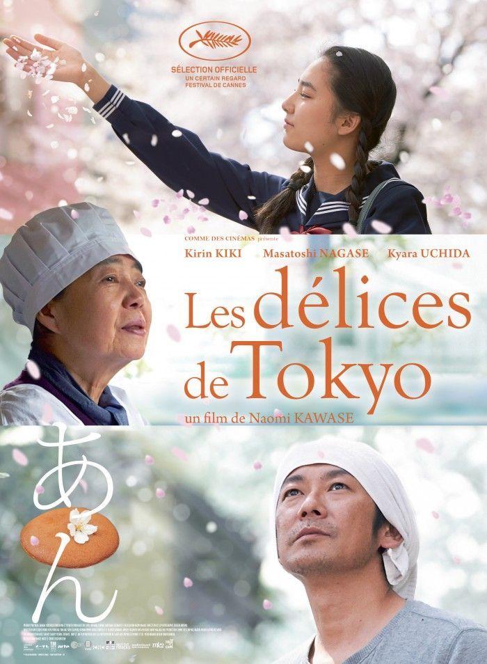 les délices de tokyo affiche