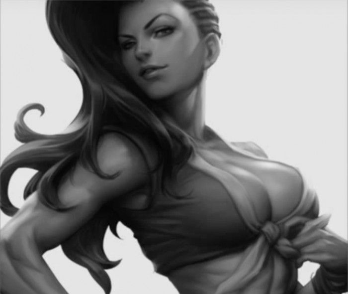 Street Fighter V : Portrait Laura Fury par Artgerm