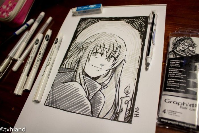 Comment dessiner Asuna de Sword Art Online avec des Graph It Brush?