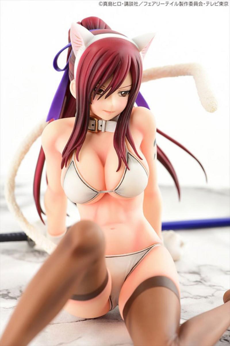 fairy tail une figurine de erza scarlet super sexy