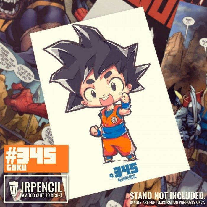 Comment dessiner Son Goku en version chibi - Dragon Ball Super
