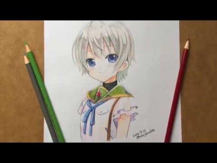 School Live Coloriage Aux Crayons De Couleurs De Miki Naoki