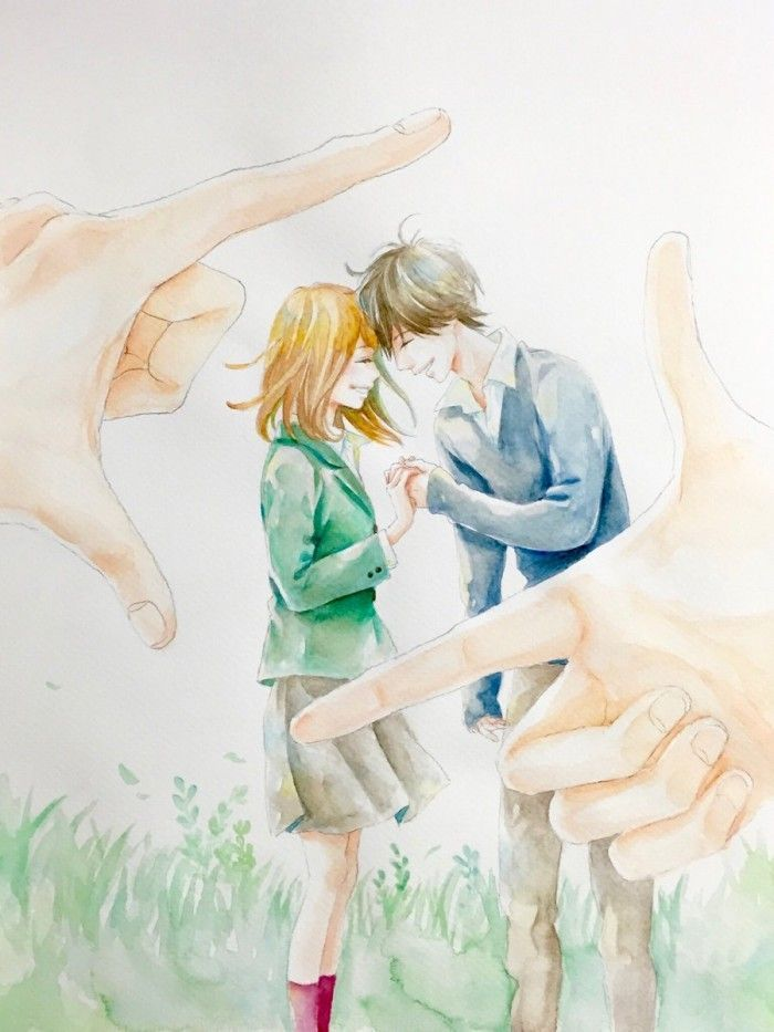 Orange dessin l 39 aquarelle par la mangaka ichigo takano - Orange dessin ...