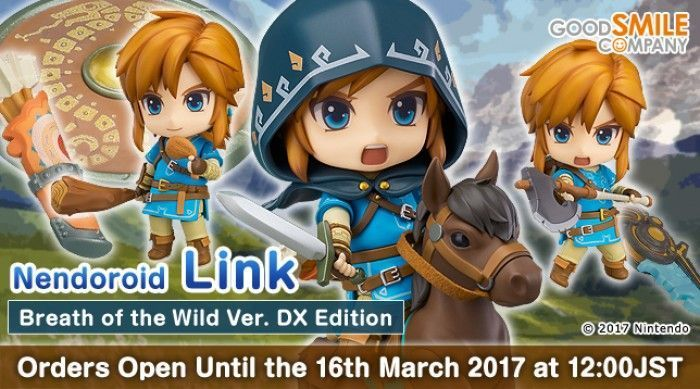 Nendoroid Link: Breath of the Wild
