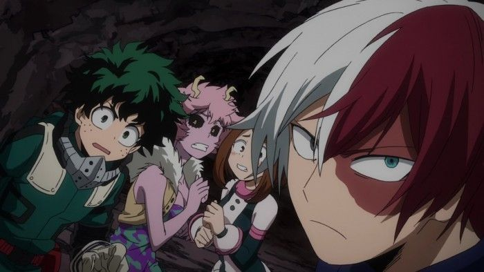 My Hero Academia contre des zombies dans Training of the Dead !