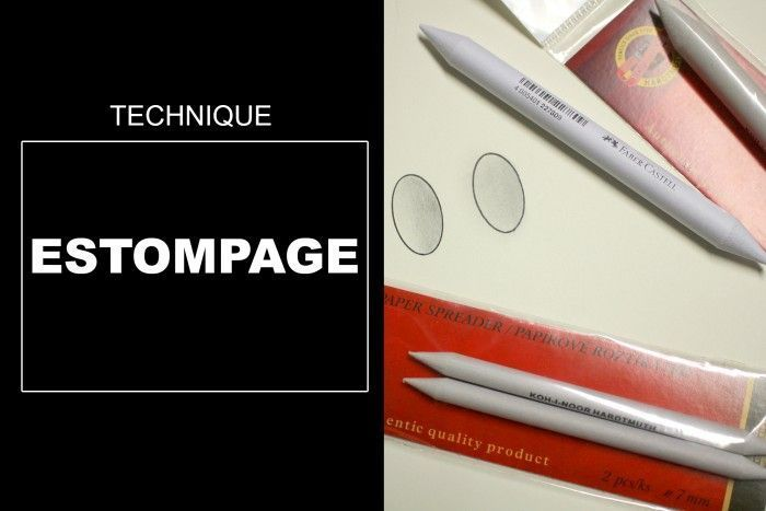 Technique de Dessin: Estompage