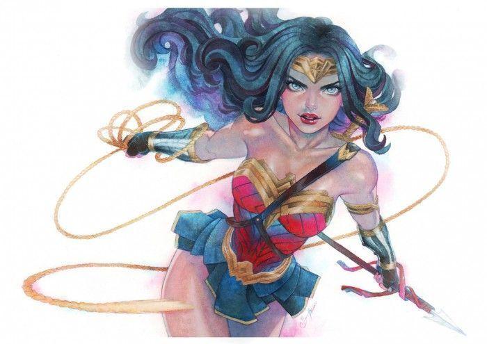 Superbes dessins fanart wonder woman - Coloriage wonder woman ...