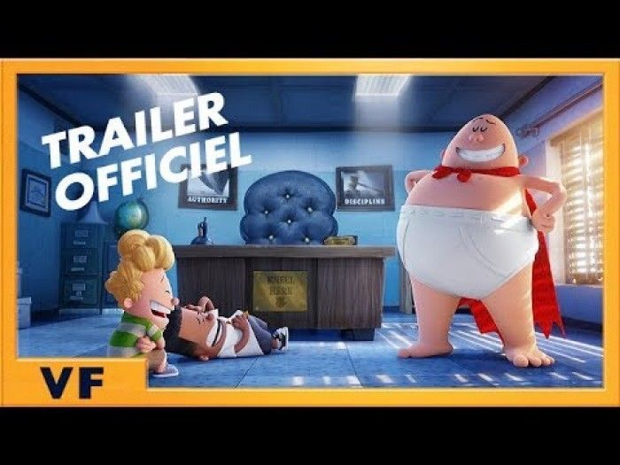 Bande Annonce super marrante de Capitaine Superslip !