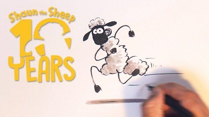 Apprendre dessiner shaun le mouton avec son cr ateur - Mouton a dessiner ...