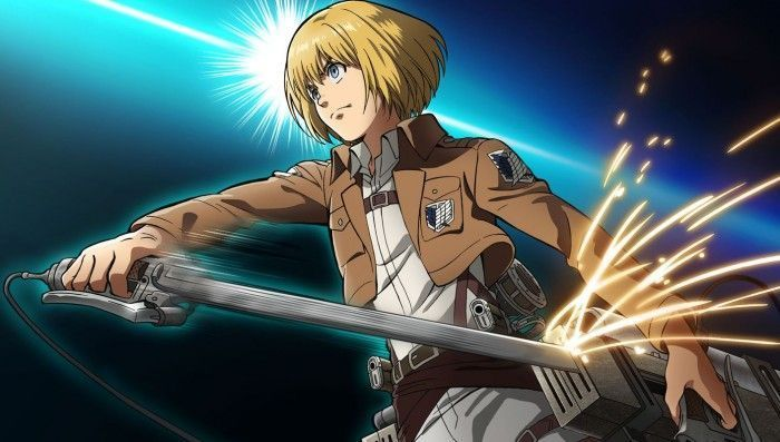 L'Attaque des Titans (Serie TV Anime) : Video Dessin de Armin Arlelt par Kyoji Asano !