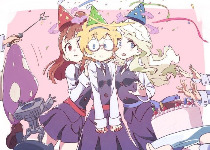 Little Witch Academia : Dessins Anniversaire de Lotte Yansson