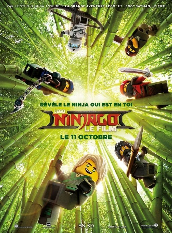 Critique Lego Ninjago Le film