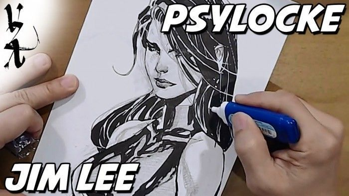 Dessiner Les Comics : Jim Lee dessine Psylocke