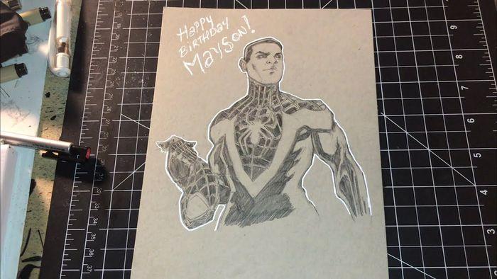 Dessiner les comics miles morales spider man par brian rogers - Dessiner spiderman ...