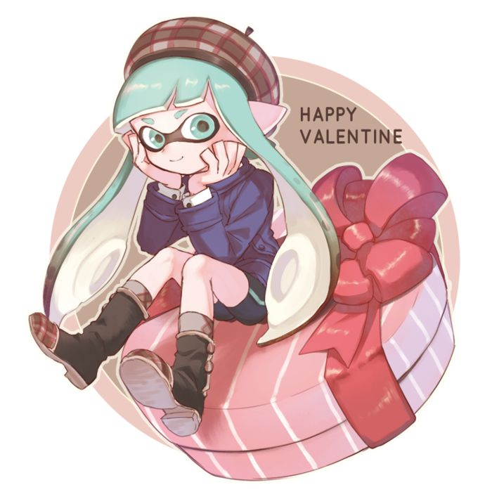 Dessins Saint Valentin x Splatoon 2