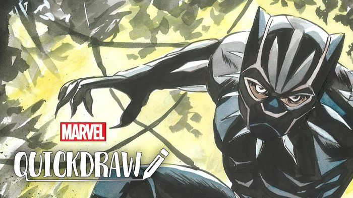 Dessiner les comics : Black Panther dessiné par Sanford Greene !