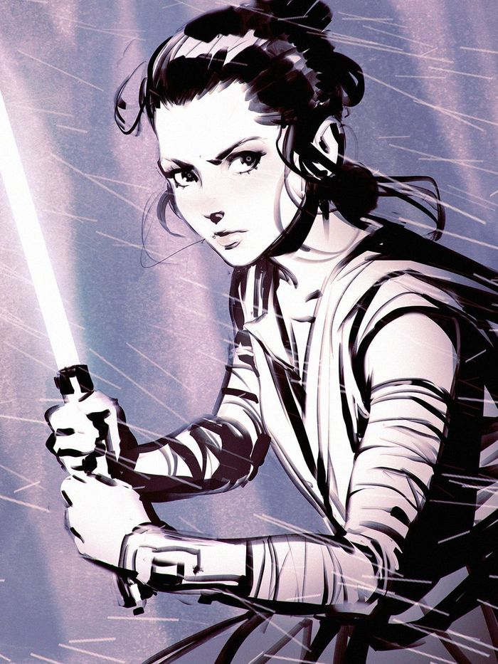 May the 4th be with you : Les dessins de Kuvshinov Ilya