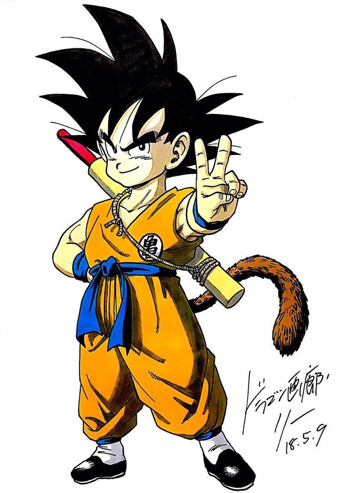 Dragon Ball Dessin De Son Goku Par Dragongarowlee