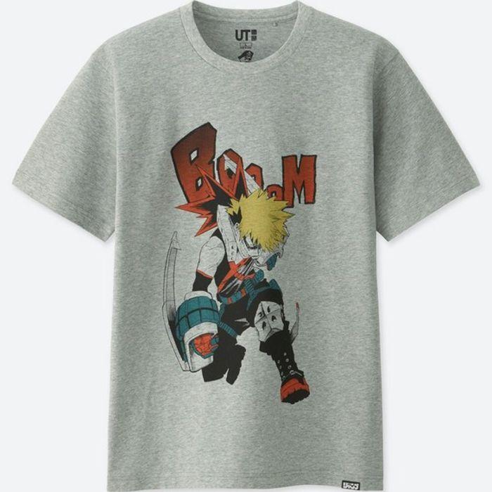 T-Shirts séries du Shonen Jump chez UNIQLO avec offre ADN 5b0ec4950b1e5
